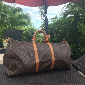 ❇️KEEPALL 60❇️ Louis Vuitton AUTHENTIC travel bag!